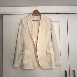 LIKE NEW✨ White Summer Blazer - Italian Tailored